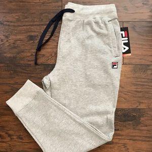 FILA Gray Jogger Sweatpants Mens size XL